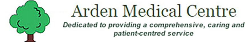 Arden medical centre logo