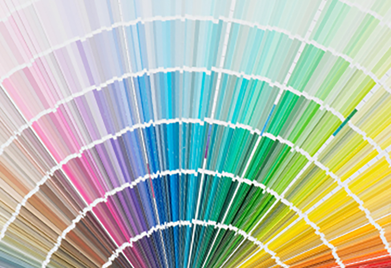 Painting and decorating colour chart for consultant designers