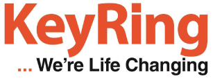 Keyring living support logo